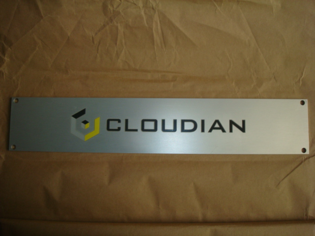 Cloudian Name Plate